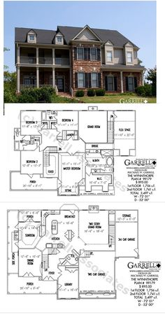 Dream house plans, my dream home, house floor plans, dream home design, House Plans One Story, Dream House Plans, House Floor Plans, Story House, Dream Home Design, My Dream Home, House Design, Construction Minecraft, House Blueprints