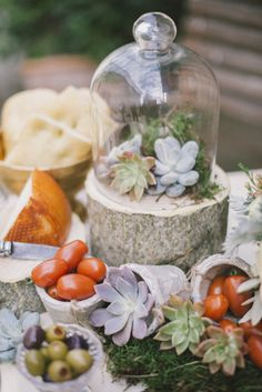 Succulents: http://www.stylemepretty.com/destination-weddings/2015/03/26/spring-tuscan-wedding-inspiration/ | Photography: DY - http://www.dy-photography.com/