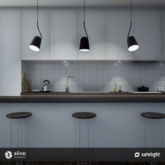 Sõrmus Pendant Lighting Collection - Aëon Illumination - Products - Satelight - Lighting Design, Custom Made Light Fixtures, Interior Lighting, Decorative Lamp Shades, Feature Pendant Lights - Melbourne, Australia