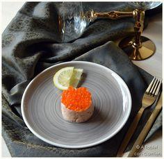 À table !      con Carmen: Rillettes de Salmón ... a los tres salmones