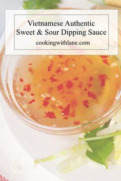 Vietnamese Sauce, Easy Vietnamese Recipes, Vietnamese Dessert, Vietnamese Cuisine, Asian Recipes, Authentic Vietnamese Spring Rolls Recipe, Thai Recipes, Recipes Dinner, Recipes With Fish Sauce