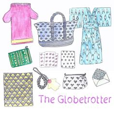 Let's begin with The Globetrotter! This is for that friend of yours who doesn't stay still, travels the world, needs easy wearable clothes, pouches for her many belongings, toiletry bags for her cosmetics, and of course stationary to send mementos back home. Find our Globetrotter gift guide up online at www.ecruonline.com #ecru #online #shopping #giftguide #design #celebration #clothing #stationary