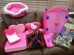 Huge Build A Bear Bundle Wardrobe Beds Hello Kitty 55+ Clothing Inc Disney