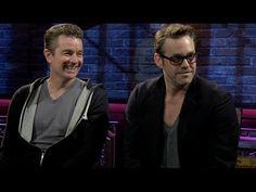 "▶ CBR TV James Marsters & Nicholas Brendon Discuss ""Buffy: Season 10,"" Writing Comics - YouTube"