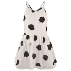 Soft Gallery White Spot Lightweight Dress