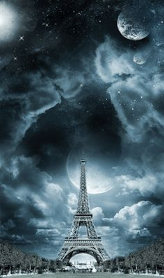 Randomly hand-picked Amazing Eiffel Tower Photos for inspiration to photographers and Paris tourist around the globe. check our daily videos Beautiful Moon, Beautiful Places, Beautiful Pictures, Beautiful Scenery, Torre Eiffel Paris, Paris Wallpaper, Nature Wallpaper, I Love Paris, Tours