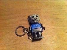 Vintage Lego Fabuland Keychain Mouse with old Chain Very Rare KCF35