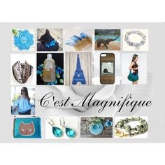 C'est Magnifique: Handmade & Vintage Gifts by paulinemcewen on Polyvore featuring Rustico, rustic and vintage
