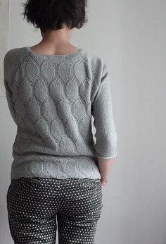 Ravelry: Project Gallery for Sort is pattern by Annette Danielsen ($8)