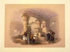 19世纪埃及和中东的建筑和风情——大卫-罗伯... 来自唐亮钢笔画 - 微博