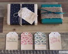 Free Printable Christmas Gift Tags (click over for tons more!) these ones are by The Elli Blog