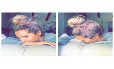 Ashley Tisdale Shows Off New Lavender Locks | Cambio