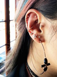 """Rook"" Piercings Are L.A.'s Coolest New Beauty Trend #refinery29"