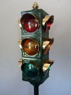 Old school rare traffic lights | Traffic Lights | Pinterest ...