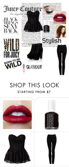 """""""Wild for Gifts with Juicy Couture"""" by yay-yay-hernandez ❤ liked on Polyvore featuring Juicy Couture, Smashbox, Essie, Jeane Blush and Forever New"""