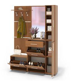Прихожая ВШ-5 + ТП-1 + ТП-4 + ПЗ-4 Одри :: Прихожие :: Прихожая :: Мебельная фабрика «Сокол» — официальный интернет-магазин производителя корпусной мебели