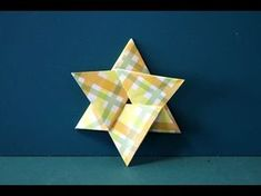 """Origami""""Six Star"""" 折り紙「六角星」折り方 - YouTube"""