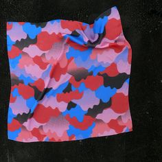 Mogollon's 2012 limited edition 100% silk scarf collect on Behance