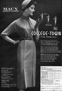 Vintage Old Fashion Advert #vintage #fashion