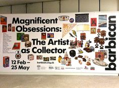 Magnificent Obsessions at the Barbican Art Gallery
