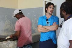 Ian Somerhalder was designated as a United Nations Environment Programme (UNEP) Goodwill Ambassador today in Bridgetown, Barbados, 5 June 2014