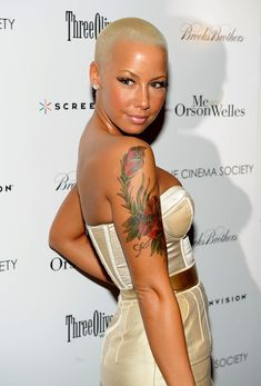 Amber Rose.. She's simply gorgeous
