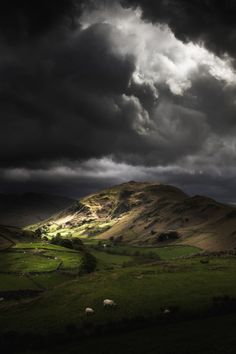 Light From Above - The Lake District Cumbria UKGiclée Print by...