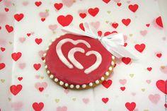 Купить Пряник имбирный сердце (красное,расписной,8 марта) - ярко-красный, пряник сердце