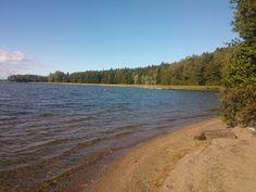 Liessaari beach near Omakylä Hippatammi - Lohja