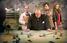 Winston Churchill summons the Doctor to Blitz-torn London, but the Daleks are waiting!'Victory of the Daleks' was first broadcast 5 years ago today.