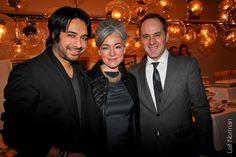 "What a fun night! ""Jian Gomeshi, Hazel Borys, & Stephen Borys - BMW Art & Soul 2013: One Hundred"""