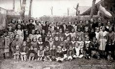 Grupo de alumnas de Juan Bautista Zabala, curso 1940-1941 (Cedida por Begoña Soler) (ref. 03759)