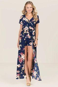 3aee036ab0d Vera Floral Maxi Romper. Chic OutfitsFashion ...