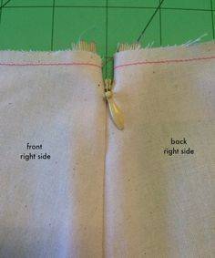 If you're a beginner sewer or would like to learn another method of inserting an invisible zipper, then this is a tutorial just for YOU! NOTE: This tutorial is demonstrating a side invisible zipper (as used in our Chloe Pant and Libby A-line...