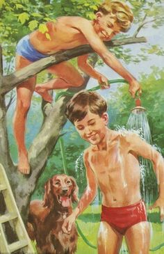 Garden hose - Peter And Jane, We Like To Help.