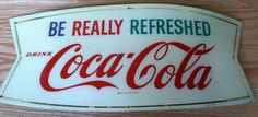 Authentic Vintage Coca Cola Plastic Acrylic by offthewallelegance, $45.00