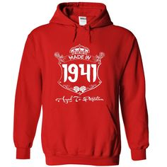 nice Made In 1941 Age To Perfection - T shirt, Hoodie, Hoodies, Year, Birthday, born