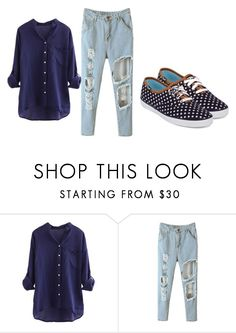"""...:)"" by whatishot ❤ liked on Polyvore featuring Keds"