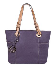 Another great find on #zulily! Purple Long Surelle Mama Tote by MKF Collection #zulilyfinds