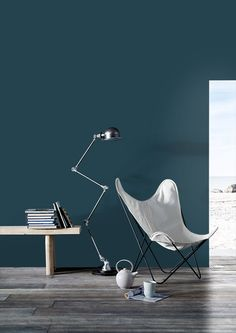 Favourite color for living room wall - flugger 2488.
