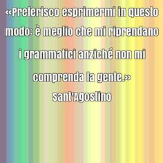 Frase rinomata di Sant'Agostino su comunicare, eloquenza, semplicità