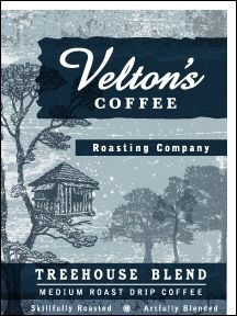 Treehouse Blend - medium roast drip coffee blend