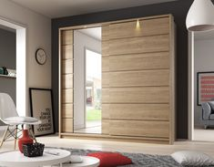 Brand New Modern Bedroom Mirror 2 Sliding Door Mirror Wardrobe Arti 15 in Oak Shetland sold by Arthauss Wardrobe Design Bedroom, Modular Wardrobes, Home Room Design, Bedroom Closet Design, Bedroom Bed Design, Bedroom Cupboard Designs, Cupboard Design, Wardrobe Room, Closet Layout