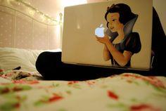 Snow white    # Pinterest++ for iPad #