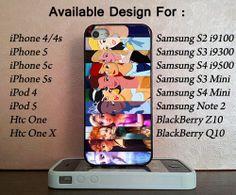 Princess Disney For iPhone 4/4s/5/5c/5s, iPod 4/5, Samsung Galaxy S2/S3/S4/S3 Mini/S4 Mini/Note 2, Htc One/Htc One X, BlackBerry Z10/Q10 on Etsy, $14.50