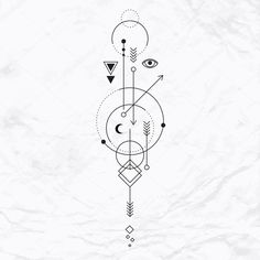 ᐈ Scorpio sagittarius tattoos together stock images, Royalty Free astrology symbols pictures Body Art Tattoos, Tattoo Drawings, Alien Symbols, Tattoo Mama, Drawing Ideas List, Mystic Symbols, Mystic Eye, Grunge Tattoo, Magic Crafts