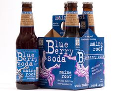 This stuff is amazing too - all natural blueberry soda made in Maine by Maine Root YUM!