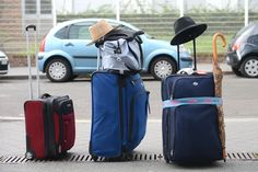 Posez vos valises  © Xavier Granet