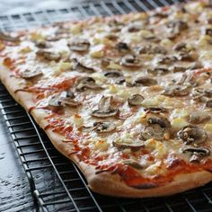 The best at-home sourdough pizza crust, infused with rosemary.