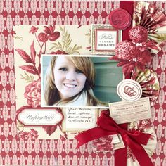 The Anna Griffin Jolie Designer Kit features vintage toile designs translated for today, and includes cardstock, die cut papers and embellishments galore. C'est magnifique!